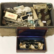 COLLECTION OF DENTAL TOOLS & OTHER ITEMS