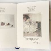 TWO BOOKS SIR WILLIAM RUSSELL FLINT - 1 SIGNED & CATALOGUE OF HIS WORKS EDITION