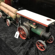 MAMOD TRACTION ENGINE LUMBER TRAILOR