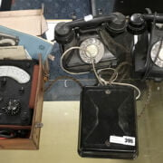 TWO GPO PHONES, AND AVOMETER