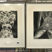 PAIR OF PRINTS - NUMBERED & SIGNED