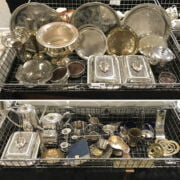 QTY SILVER PLATE ETC