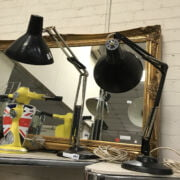 TWO RETRO ANGLEPOISE LAMPS