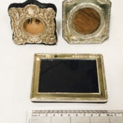 3 HM SILVER PICTURE FRAMES