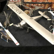 4 MODEL HELICOPTERS AND MODEL PLANE
