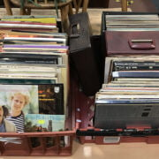2 TRAYS OF RECORDS