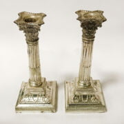PAIR OF HM SILVER CANDLESTICKS