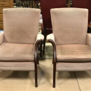 TWO PARKER KNOLL CHAIRS