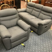 THREE SEATER RECLINER & ARMCAHIR