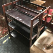 TWO FOLDING BOOKCASES
