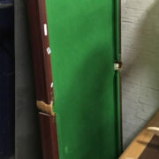 POOL TABLE NEW WITH CUES , BALLS ETC