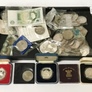 SILVER PROOF COINS WITH OTHER COLLECTORS COINS