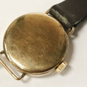 9CT GOLD TUDOR LADIES WRISTWATCH WITH ANOTHER