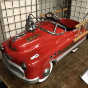 FIRE FIGHTERS PEDAL CAR - RED DEVIL