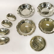 9 DANISH 925 SILVER ITEMS