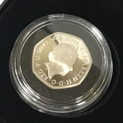SET OF FOUR BEATRIX POTTER SILVER PROOF COINS - UNOPENED, MINT CONDITION