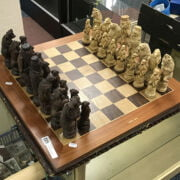 2 CHESS BOARDS & PIECES