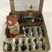 QTY. OF WAR COINS WITH CAST METAL MECHANIC MONEY BOXES