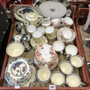 QTY VARIOUS TEASETS