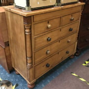 VICTORIAN SIX DRAWER CHEST