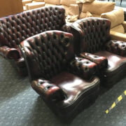 THREE PIECE CHESTERFIELD STYLE SUITE