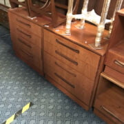 PAIR OF G PLAN FOUR DRAWER CHESTS