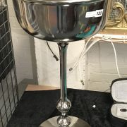 4 BOTTLE CHAMPAGNE COOLER ON STAND - 83CMS TALL