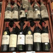 13 BOTTLES OF RED WINE - STORED LAYING DOWN IN WINE CELLAR
