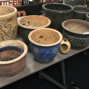 COLLECTION OF GARDENS POTS
