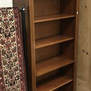 YEW 6FT BOOKCASE