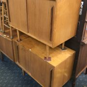 PAIR OF HILLE OF LONDON CABINETS