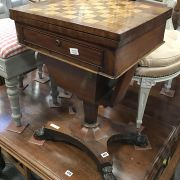 VICTORIAN GAMES TABLE - A/F