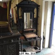JACOBEAN STYLE HALL STAND
