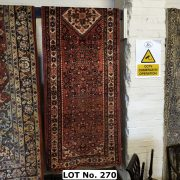 NORTH WEST PERSIAN MALAYER RUNNER 333CM X 80CM