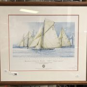 MONACO CLASSIC WEEK 700 SIGNED & GALLERY STAMPED