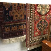 TWO ANTIQUE RUGS