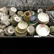 QTY CHINA INCL. PARAGON WITH OTHER BRIC A BRAC ETC