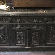 JACOBEAN STYLE SIDEBOARD - A/F
