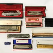 COLLECTION OF HARMONICAS - 4 HOHNER