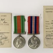 TWO WW2 MEDALS AWARDED TO POLISH ARMY MEN