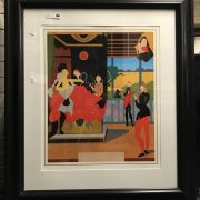 RAPHAEL REVISITED SIGNED SILK SCREEN PRINT BY TOM PHILLIPS R.A GREAT CONDIT...