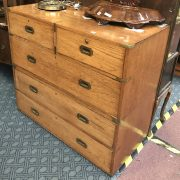 5 DRAWER MILITARY CHEST