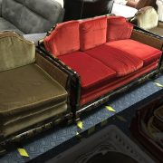 CHINESE BERGERE THREE PIECE SUIET