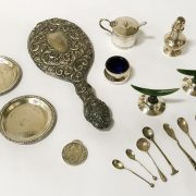 QTY. OF SILVER ITEMS