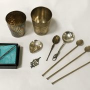 QTY OF SILVER & PLATED ITEMS