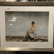 SIGNED & GALLERY STAMPED RUSSELL FLINT PRINT - 69 X 89 CMS