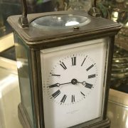 CARRIAGE CLOCK BY PEARCE & SONS - A/F