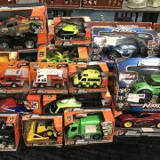 LARGE QUANTITY OF ROAD RIPPER TOY CARS (18) AND 3 NIKKO REMOTRE CONTROL CAR...