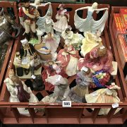 LARGE COLLECTION OF ROYAL DOULTON AND OTHER FIGURES