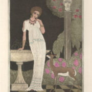 GEORGES BARBIER (1882- 1932) HAND COLOURED THEATRE ETCHING ON WOVE CA.1912 - ARTIST PROOF